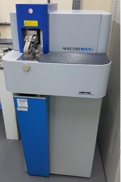 analise química por espectrometria